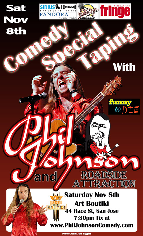 Phil Johnson DVD Filming Poster