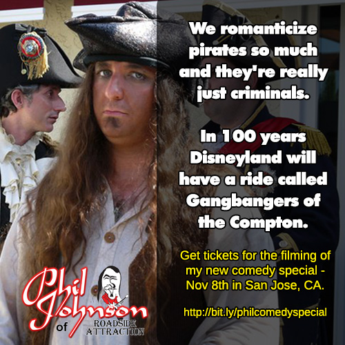 Phil Johnson Pirate Joke Meme